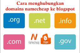 Cara Mudah Custom Domain Namecheap Ke Blogspot Terbaru