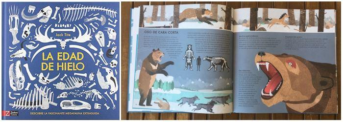 Libro informativo de conocimientos La edad de hielo