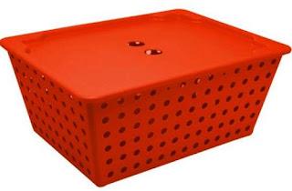 cesta caixa organizadora marca coza