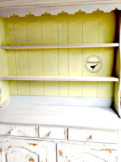 Choosing colors for a painted hutch