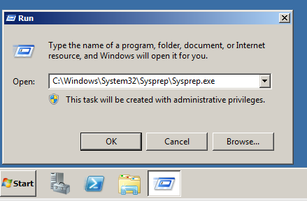 Daniel B's Tech Blog: New SID and SysPrep in Windows Server
