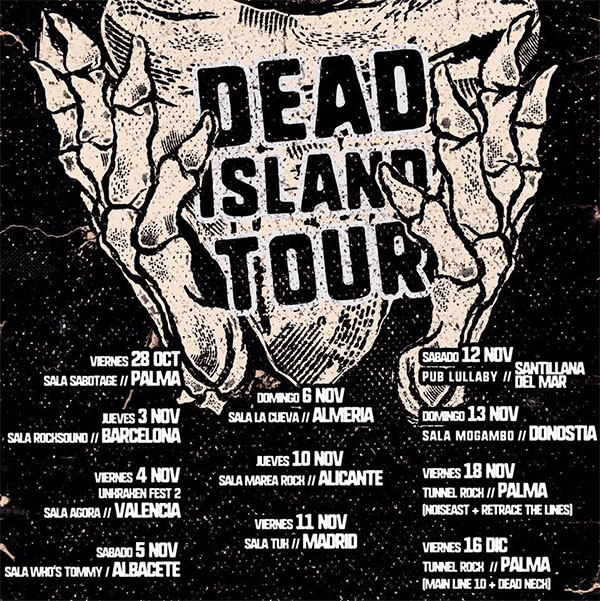 Main Line 10 release Dead Island Tour 2016 documentary