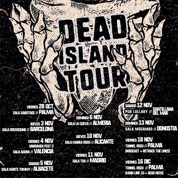 Main Line 10 release Dead Island Tour 2016 documentary