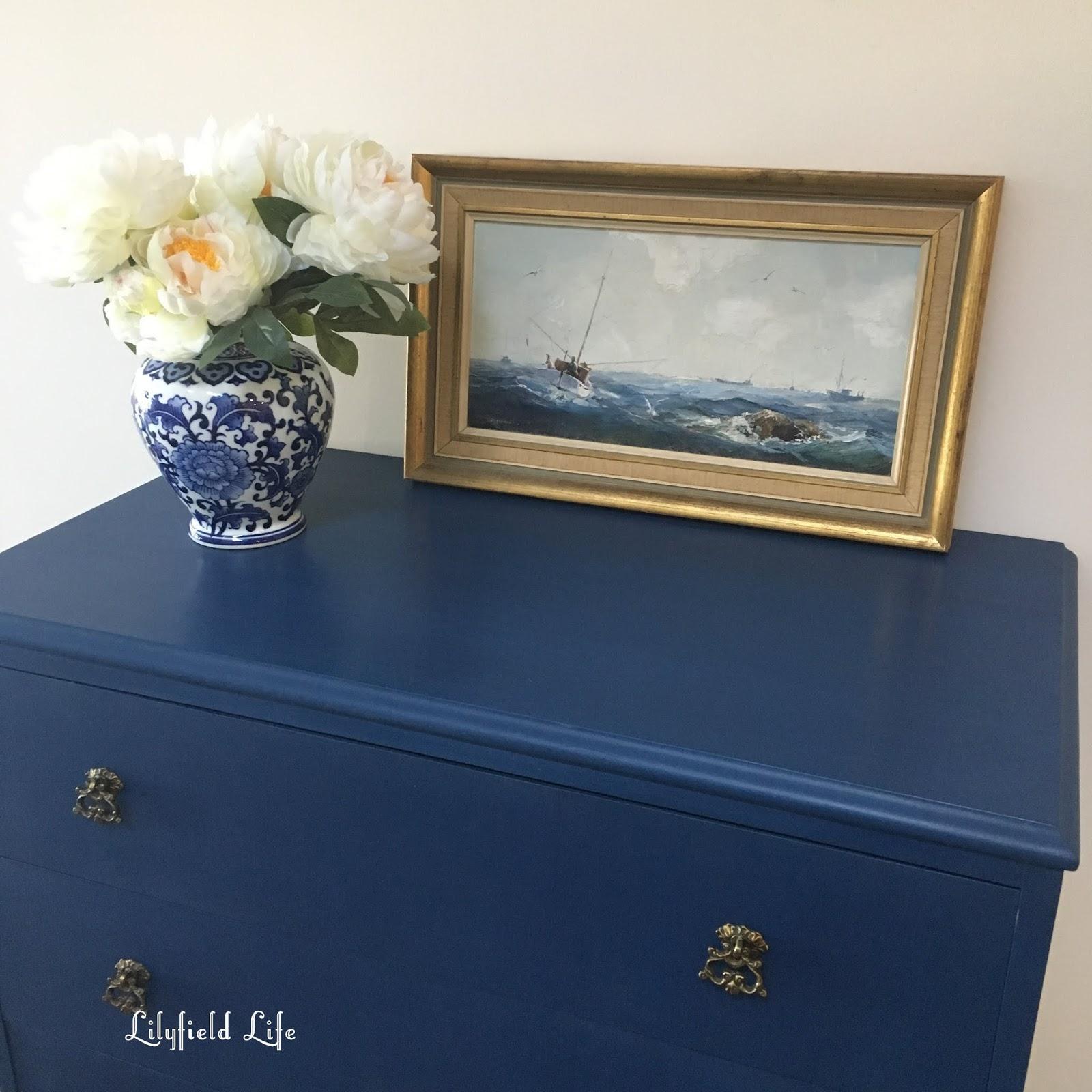 Navy Chalk Paint Furniture Furniture Designs