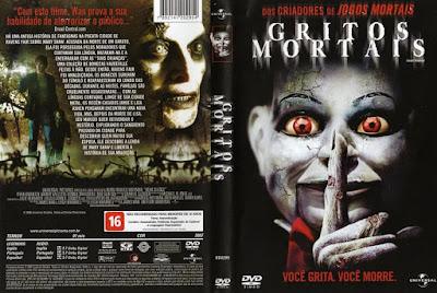 Filme Gritos Mortais (Dead Silence) DVD Capa