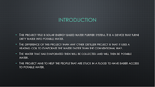 Final Year Project (UniKL BMI) Solar Energy Based Water