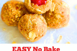 EASY No Bake Gluten Free Raspberry Protein Energy Balls #easynobake #nobake #breakfast #easybreakfast #energyballs #healthysnacks #raspberry #snacks #protein #glutenfree #vegan #sweettreat
