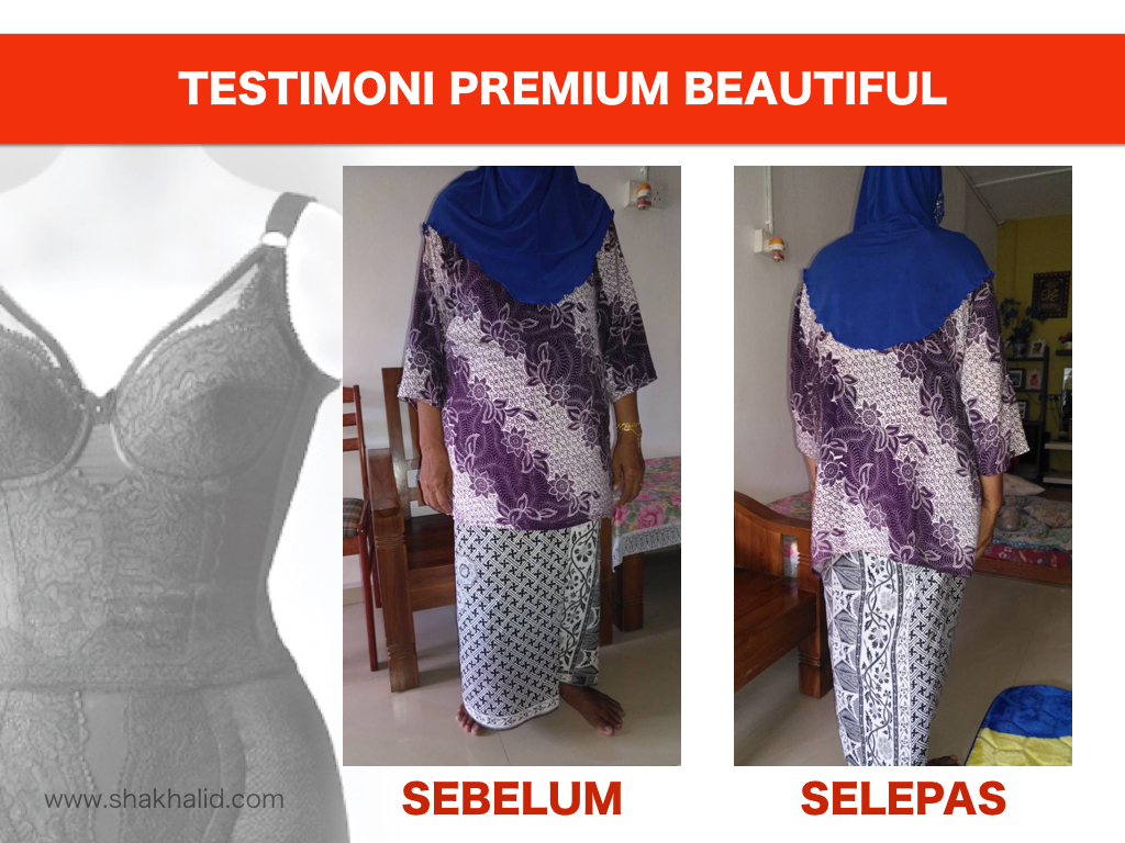 testimoni premium beautiful waist nipper