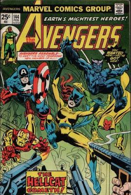 Avengers #144, Hellcat makes her debut