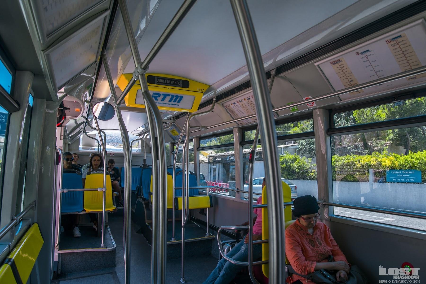 Автобус в Марселе