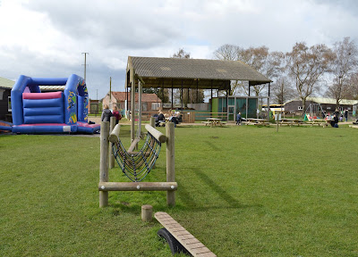 Tattershall Farm Park - A review - adventure playground