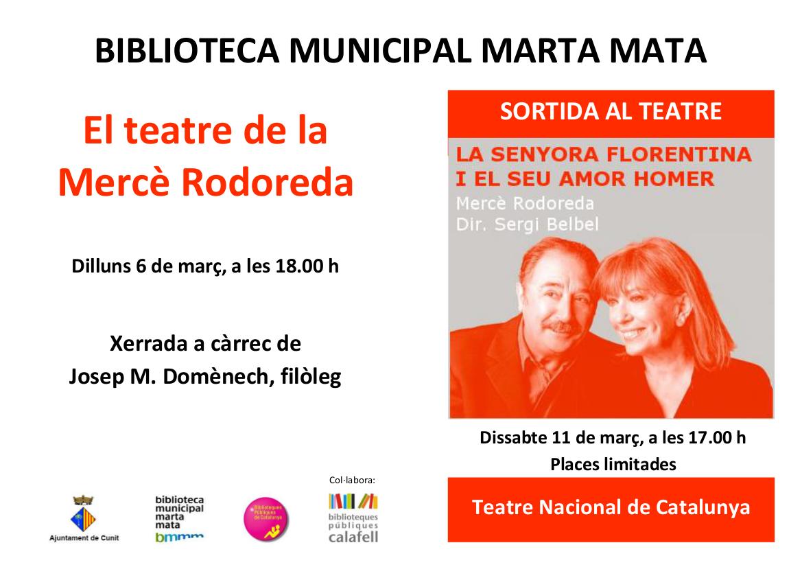 Biblioteca de cunit sortida al teatre nacional de catalunya for Teatre nacional de catalunya