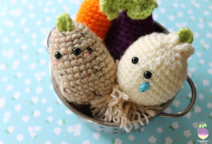 Free Amigurumi Food Patterns - Super Cute Kawaii!! | 480x706