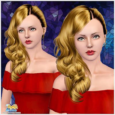 The Sims 3 Asiulka1024 Fryzury Damskie