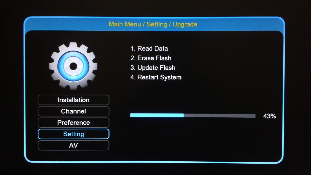 Cara Upgrade Getmecom HD5 Robocop Tandberg Terbaru