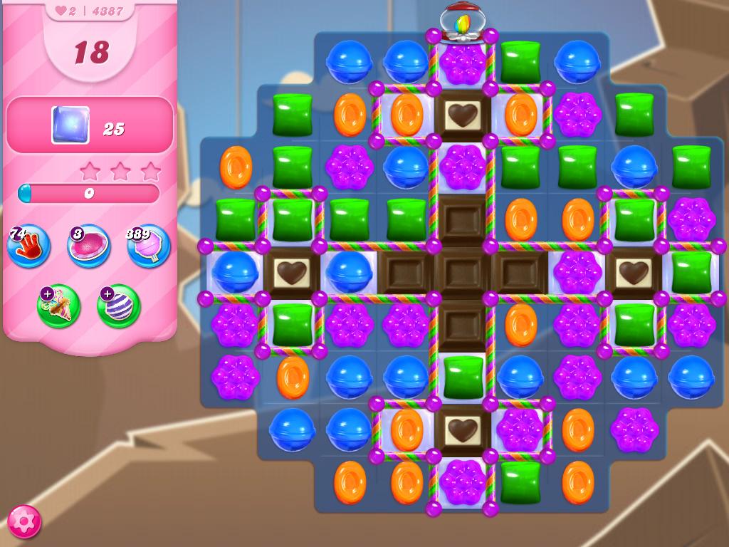 Candy Crush Saga level 4387