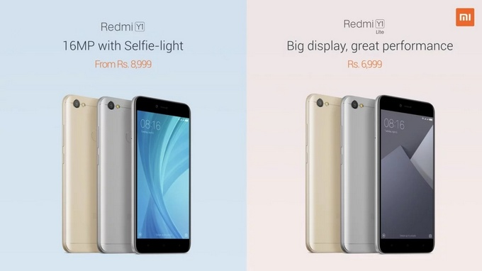 Xiaomi Redmi Y1 dan Redmi Y1 Lite