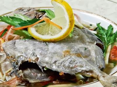 Resepi Ikan Kukus Istimewa