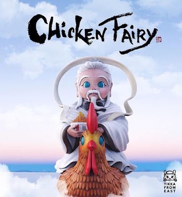 Chicken Fairy Vinyl Figure by Tik Ka From East x Mighty Jaxx
