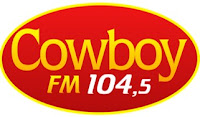 Rádio Cowboy FM 104,5 de Monte Alegre de Minas MG
