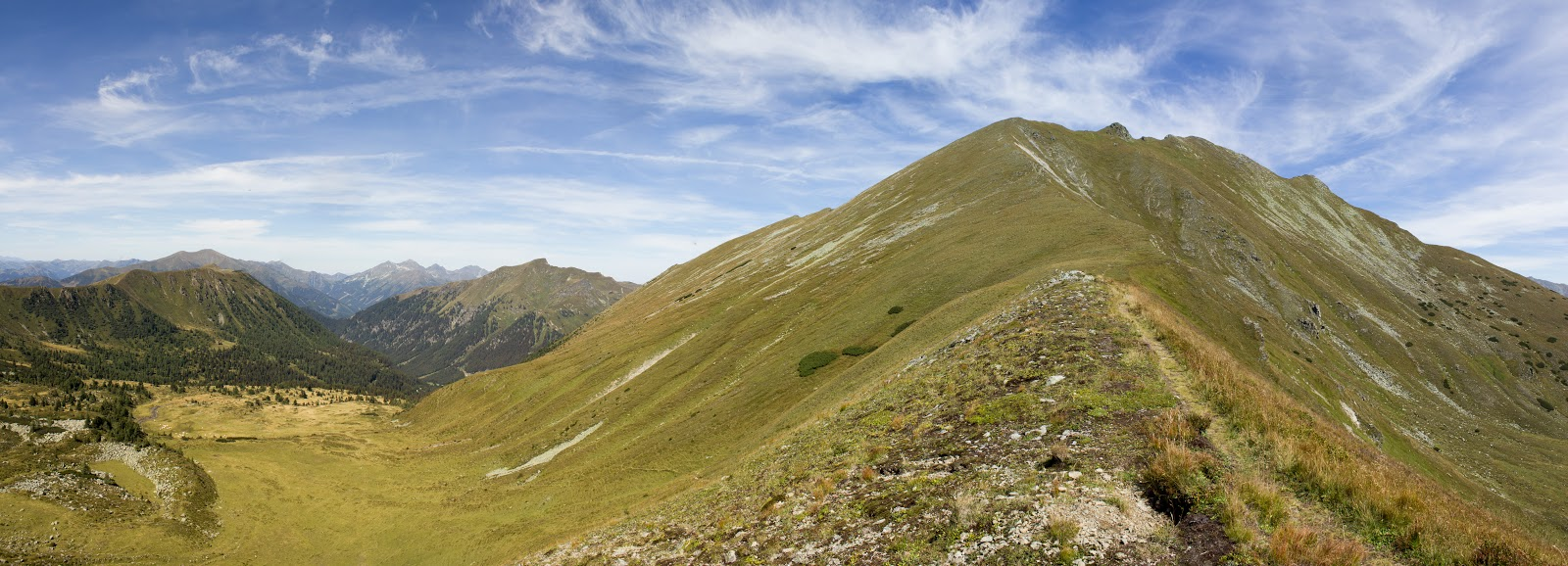 Wandern im Bärental - von der Franzlbauerhütte auf den Gamskögel - Triebener Tauern - Steiermark