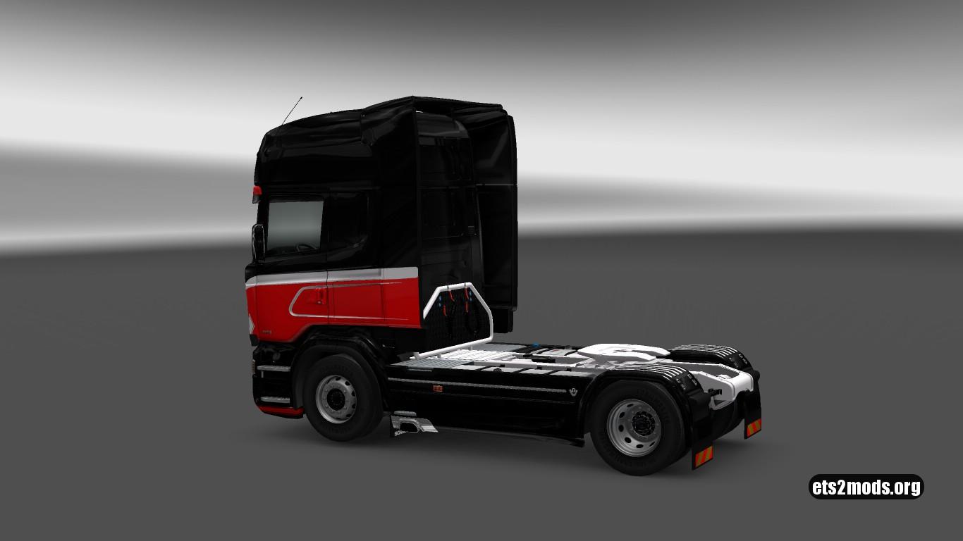 Scania RJL Big Red Skin