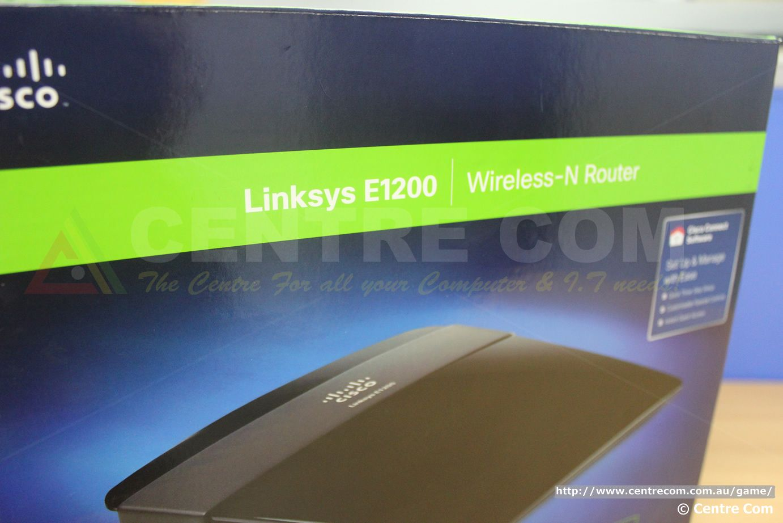 Centre Com: Lynksys X3000 & E1200 Routers