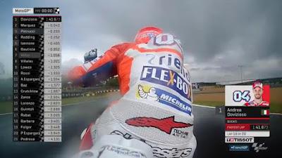 Dovi Tercepat di FP2 GP Prancis, Rossi Turun Ke-10
