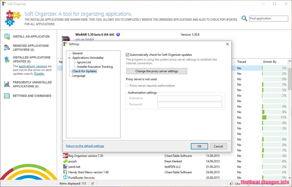 Download Soft Organizer 7.26 Full Key – Phần mềm gỡ ứng dụng