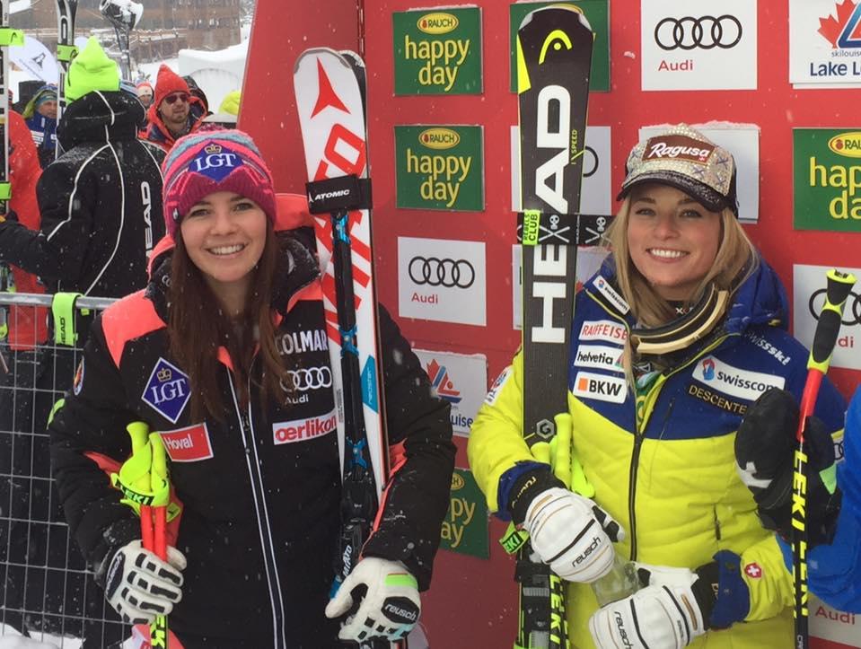 Ski Paradise Lara Gut Wins World Cup Super G In Lake Louise