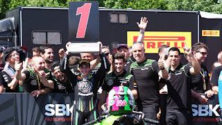 SUPERSPORT 300 - Ana Carrasco se convierte en la primera mujer campeona del mundo de motociclismo