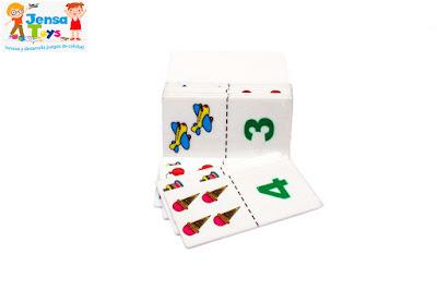 Domino Figura - Numero Plastico