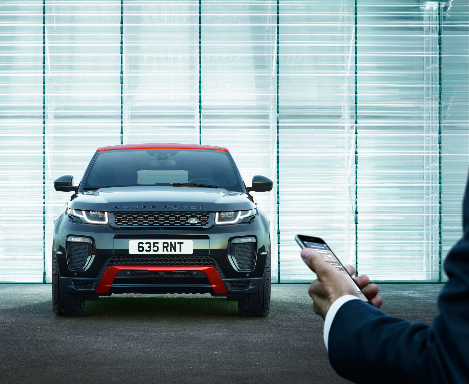 Updated 2017 Range Rover Evoque Gains More Tech And New Ember