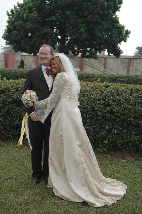 Goldie's husband shares their wedding photo