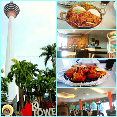 Best things to do and see in KL tower, kuala lumpur, malaysia. Moghul Mahal restaurant in KL tower, NBAM blog