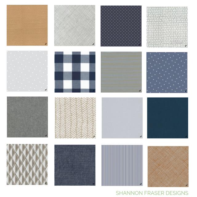 Stash Fabrics Design Star Challenge - Round 4   Man Quilt Fabric Bundle   Shannon Fraser Designs   Quilting Cotton   Modern Quilting