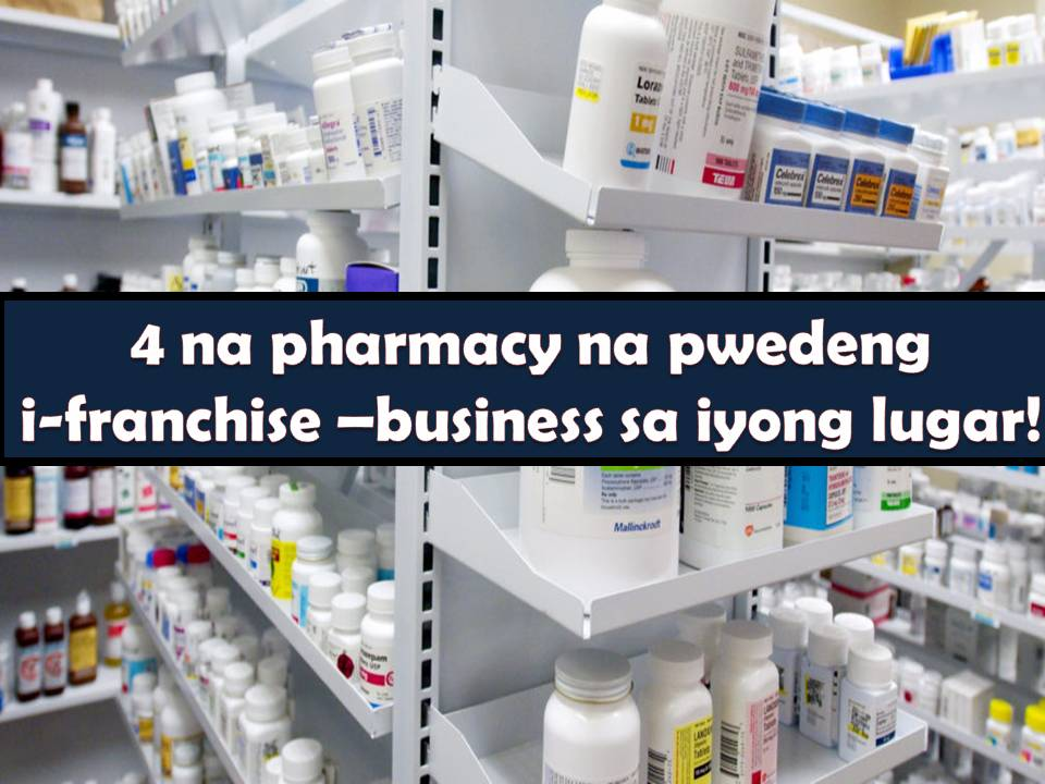 Pharmacy is another viable business to try. Every person once in a while got sick and medicine is needed. Aside from this, we need health supplements and vitamins that only pharmacies can offer.  Pharmacies are not a just profitable business but it really helps people around you. Whether you like to franchise a pharmacy that offers generic medicine or with a brand, here are four option for pharmacy business through franchising.