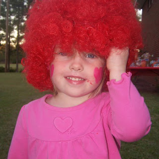 Carnival Clown Wig Dress Up