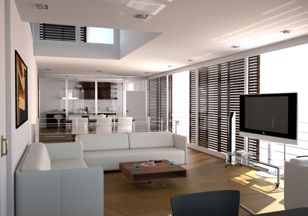 modern small apartment interior design