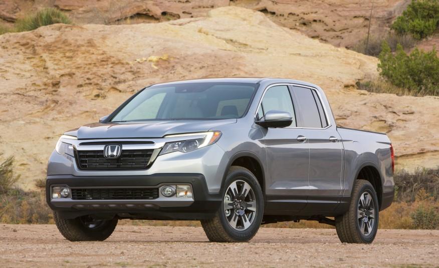 Ngoại thất của Honda Ridgeline 2017 đã có nhiều thay đổi