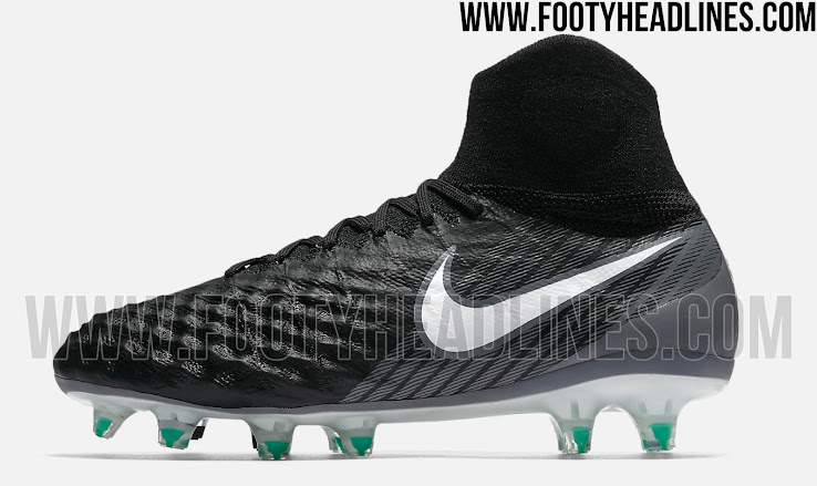 info pour 3510a fdbe7 Awesome Black Nike Magista Obra II 2017-18 Boots Leaked ...