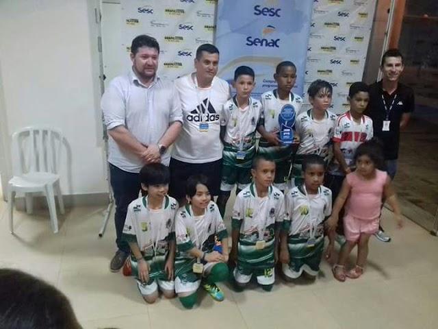 Time do Sub-11 de Borrazópolis é Campeão da Copa Sesc em Ivaiporã