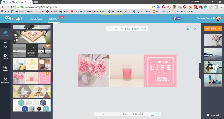 DLOLLEYS HELP: FOTOJET: Free Online Collage Maker