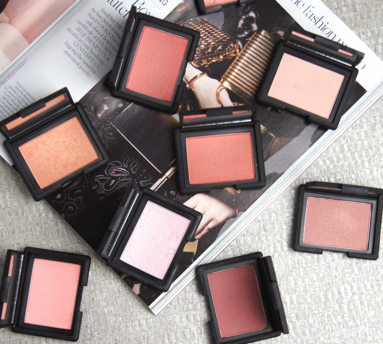 nars powder blush collection review swatches