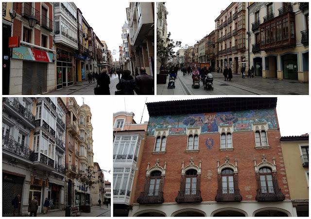 pasear por la calle mayor de Palencia
