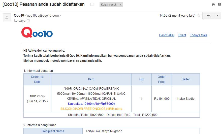 Pengalaman Cara Belanja Online di Qoo10 Indonesia - Aditya-Web.com c0ef28297d