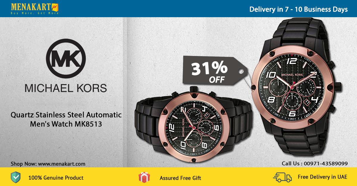 0288cbe9a32d Online Shopping in Dubai  Shop for Michael Kors Quartz Stainless ...
