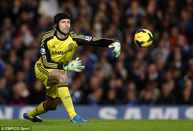 44f348dfd37 Chelsea goalkeeper Petr Cech signs for Arsenal