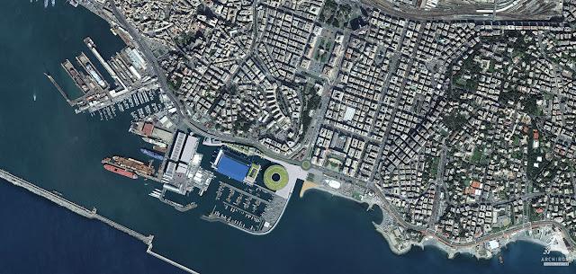 Визуализации проекта реконструкции портовой зоны в городе Генуя | Блог Archirost