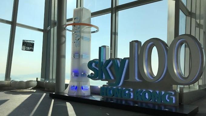 【SKY100】九龍地標圓方 走上天際賞香港美景